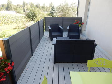 terrasse et claustra l cousse. Black Bedroom Furniture Sets. Home Design Ideas
